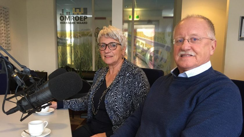 Hetty Dalm-Dick Polderdijk in de studio