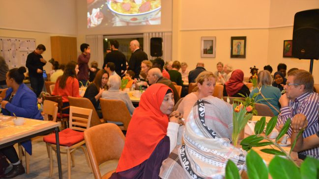 multicultureel diner in De Open Hof