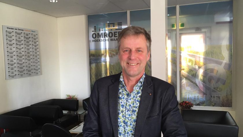 Ad Valkenburg in de studio maart 2020
