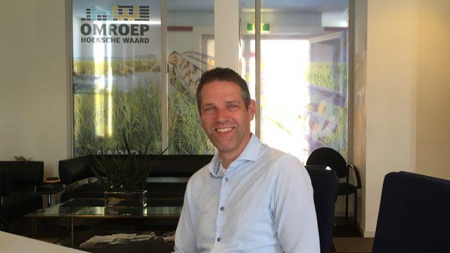 Marco Heemskerk in de studio
