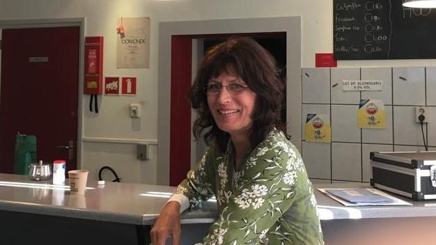 Deborah van abcoude in de studio